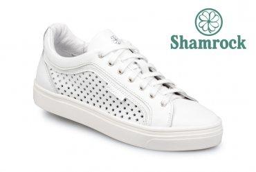 Летние женские кеды Shamrock 40.10 white