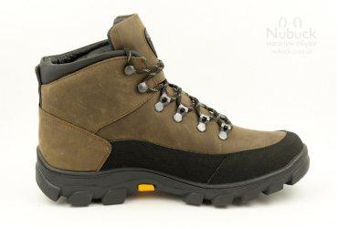 Зимние мужские ботинки SHARK B-194 brown