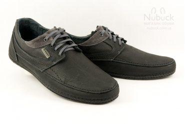 Комфортные мягкие мужские туфли SHARK T-383