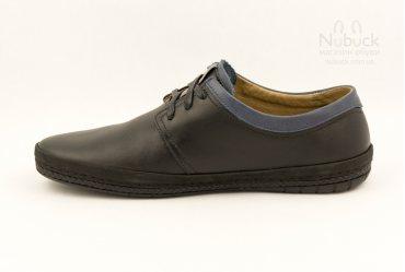 Комфортные мягкие мужские туфли SHARK T-408