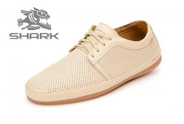 Летние мягкие мужские туфли SHARK T-409 W air
