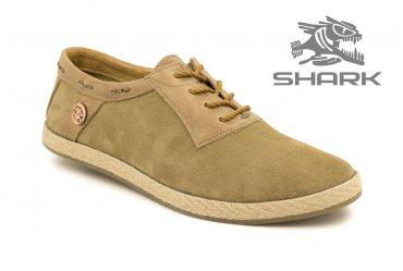 Летние мужские туфли SHARK T-437 coconut