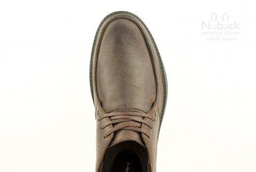 Комфортные мужские туфли SHARK T-477 brown