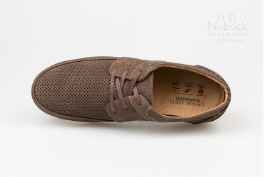 Летние мужские туфли SHARK T-488 brown