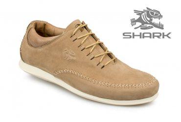 Комфортные мужские туфли SHARK T-88 coconut