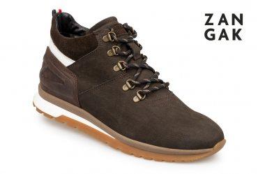 Зимние мужские ботинки Zangak 999-9 brn