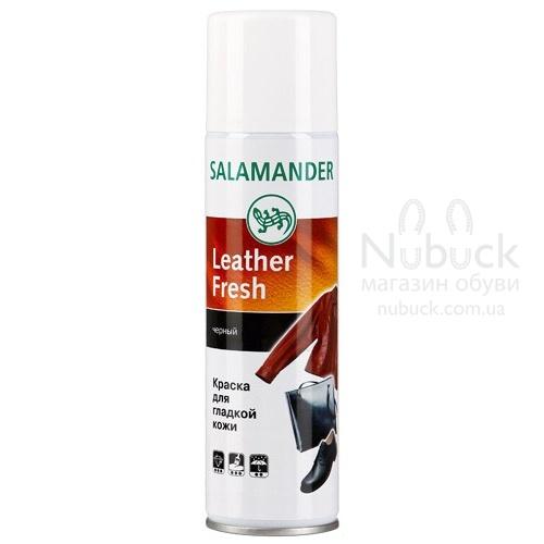 Аэрозоль salamander leather fresn д/гладкой кожи