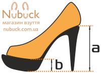 Высота каблука